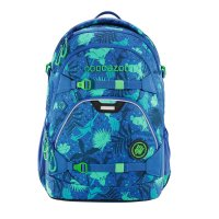 CooCaZoo Rucksack ScaleRale Tropical Blue