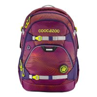 CooCaZoo Rucksack ScaleRale Soniclights Purple